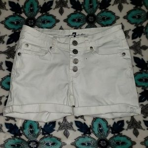 7 For All Mankind Shorts size 12
